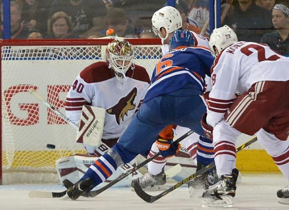 Arizona Coyotes vs. Edmonton Oilers at Gila River Arena