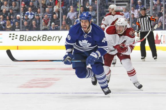 Arizona Coyotes vs. Toronto Maple Leafs at Gila River Arena