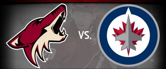 Arizona Coyotes vs. Winnipeg Jets at Gila River Arena