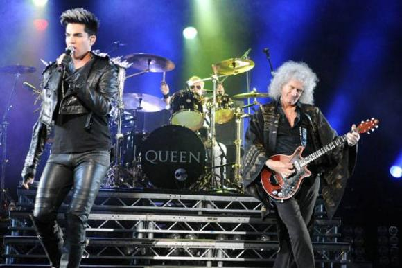 Queen & Adam Lambert at Gila River Arena