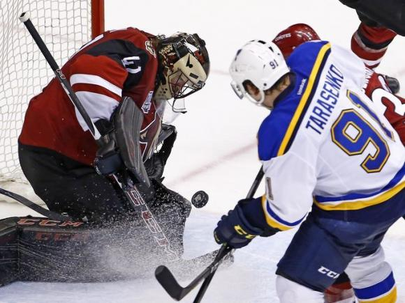 Arizona Coyotes vs. St. Louis Blues at Gila River Arena