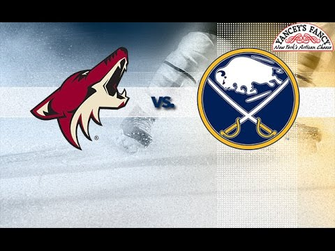 Arizona Coyotes vs. Buffalo Sabres at Gila River Arena