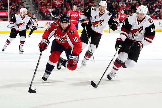 Arizona Coyotes vs. Washington Capitals at Gila River Arena