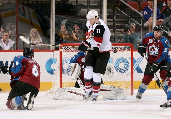 Arizona Coyotes vs. Colorado Avalanche at Gila River Arena
