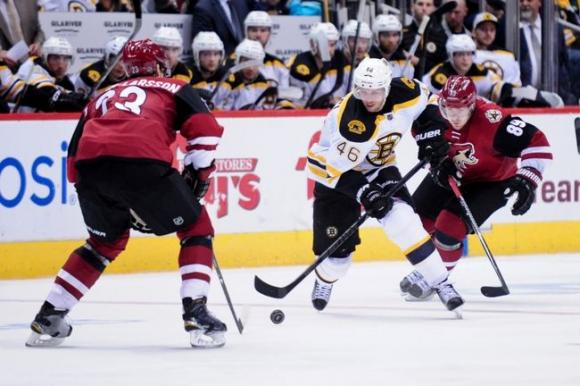 Arizona Coyotes vs. Boston Bruins at Gila River Arena