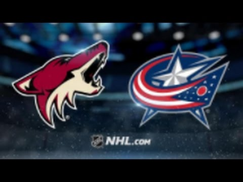 Arizona Coyotes vs. Columbus Blue Jackets at Gila River Arena