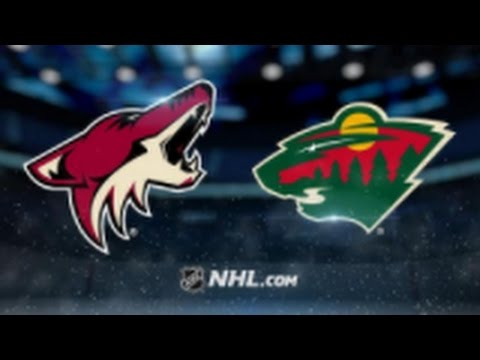 Arizona Coyotes vs. Minnesota Wild at Gila River Arena
