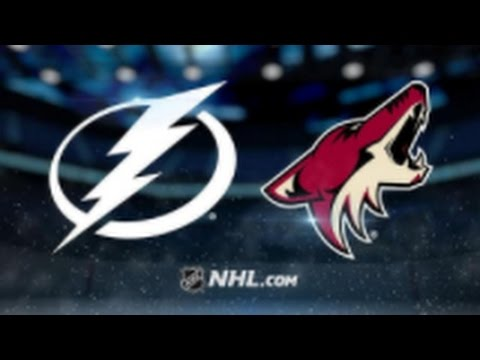 Arizona Coyotes vs. Tampa Bay Lightning at Gila River Arena