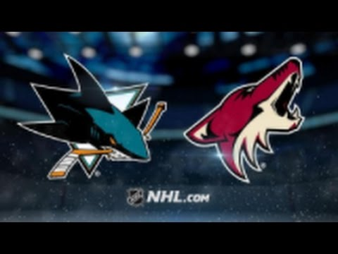 Arizona Coyotes vs. San Jose Sharks at Gila River Arena