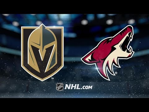 Arizona Coyotes vs. Vegas Golden Knights at Gila River Arena