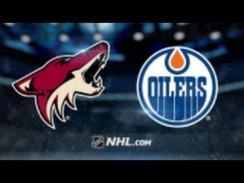 Arizona Coyotes vs. Edmonton Oilers at Gila River Arena