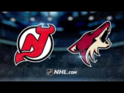 Arizona Coyotes vs. New Jersey Devils at Gila River Arena