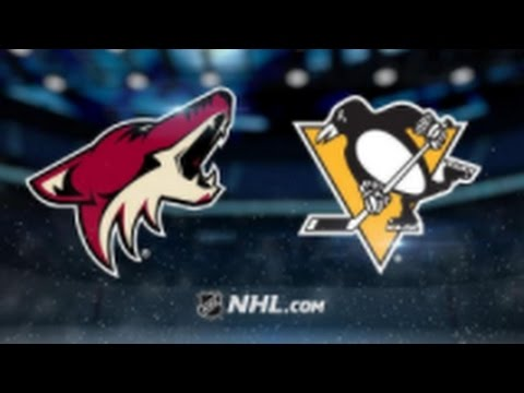 Arizona Coyotes vs. Pittsburgh Penguins at Gila River Arena