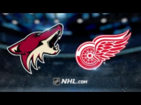 Arizona Coyotes vs. Detroit Red Wings at Gila River Arena