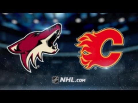 Arizona Coyotes vs. Calgary Flames at Gila River Arena