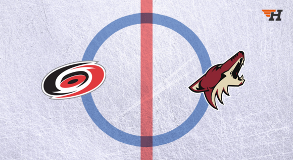 Arizona Coyotes vs. Carolina Hurricanes at Gila River Arena
