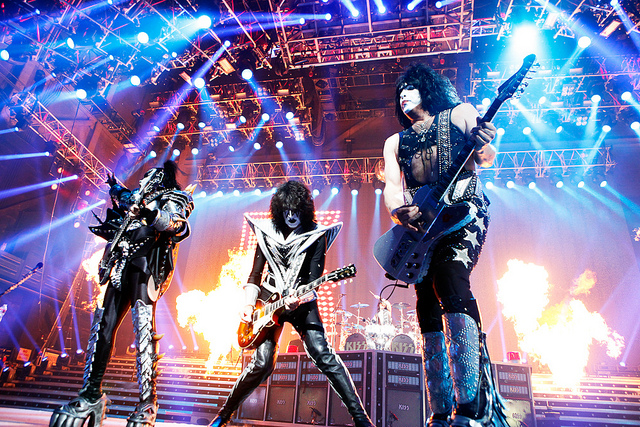 Kiss at Gila River Arena