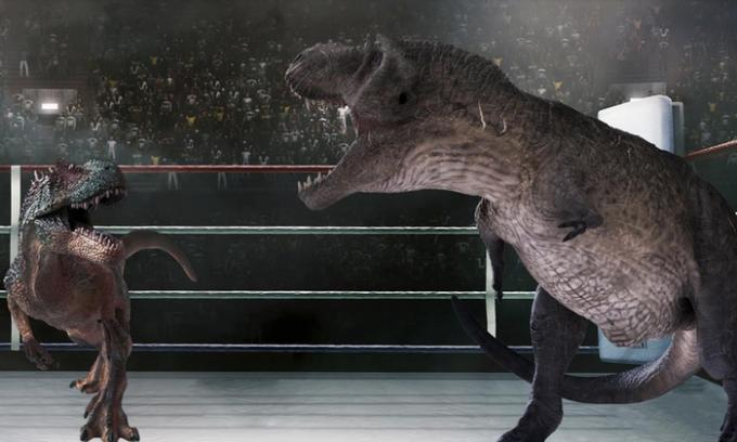 Jurassic Fight Night at Gila River Arena