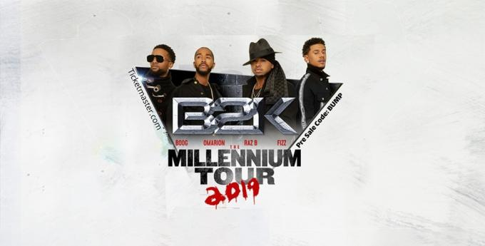 The Millennium Tour: B2K, Mario & Pretty Ricky at Gila River Arena