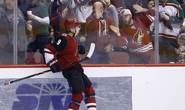 NHL Western Conference First Round: Arizona Coyotes vs. TBD - Home Game 1 (Date: TBD - If Necessary) at Gila River Arena
