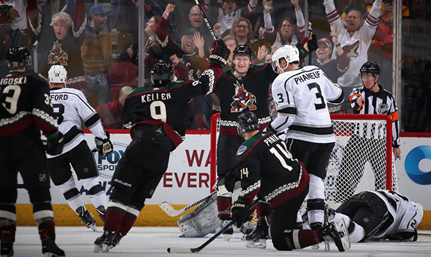 Arizona Coyotes vs. Calgary Flames at Gila River Arena