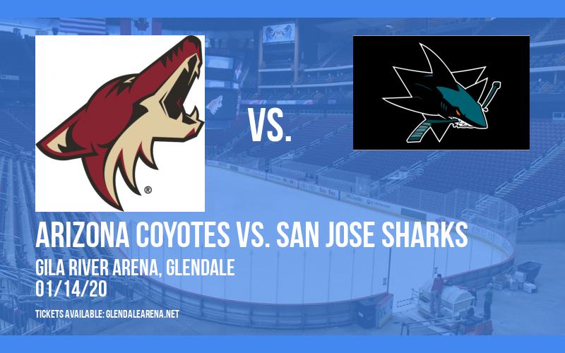 Arizona Coyotes vs. San Jose Sharks at Gila River Arena