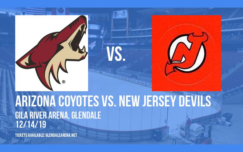 Arizona Coyotes vs. New Jersey Devils at Gila River Arena