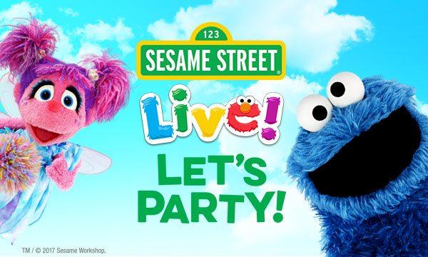 Sesame Street Live! Let's party at Gila River Arena