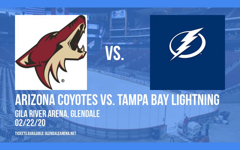 Arizona Coyotes vs. Tampa Bay Lightning at Gila River Arena