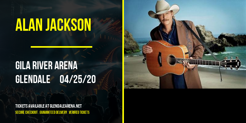 Alan Jackson at Gila River Arena