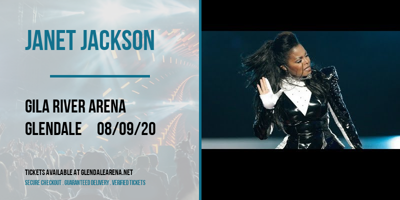 Janet Jackson [CANCELLED] at Gila River Arena