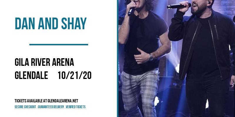 Dan And Shay [POSTPONED] at Gila River Arena