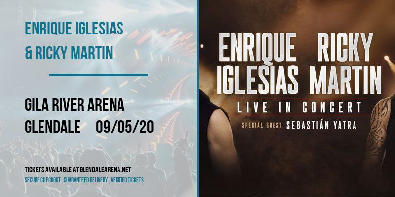 Enrique Iglesias & Ricky Martin at Gila River Arena