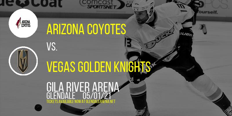 Arizona Coyotes vs. Vegas Golden Knights at Gila River Arena