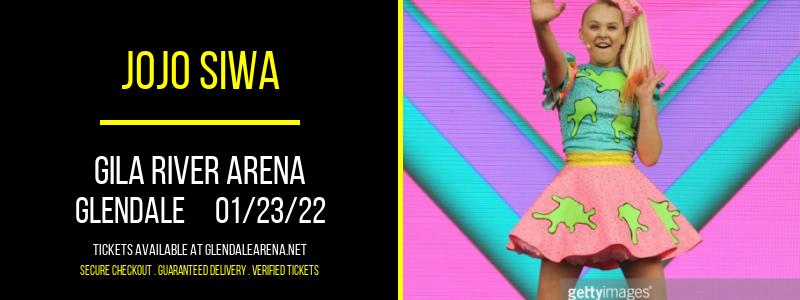 JoJo Siwa at Gila River Arena