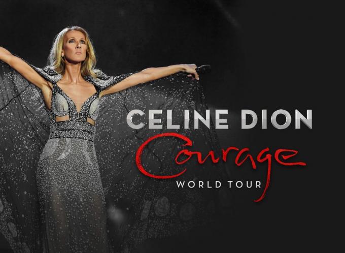 Celine Dion at Gila River Arena