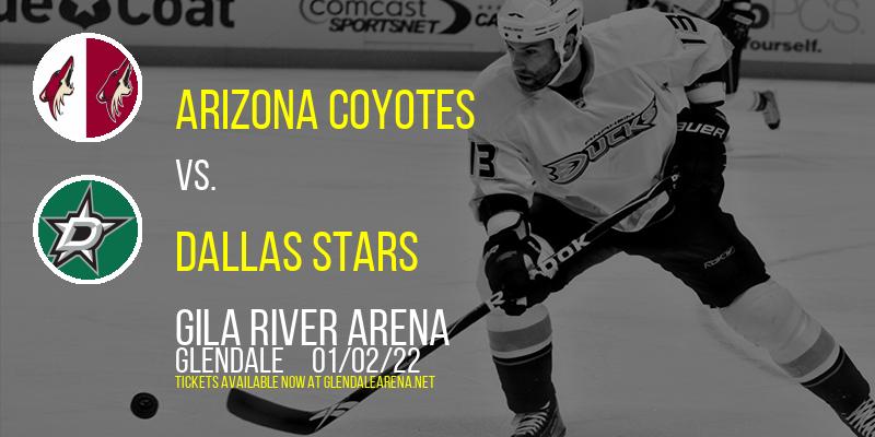 Arizona Coyotes vs. Dallas Stars at Gila River Arena