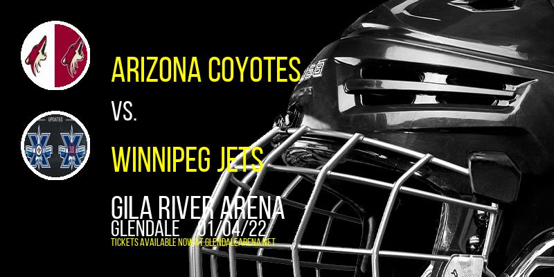 Arizona Coyotes vs. Winnipeg Jets at Gila River Arena