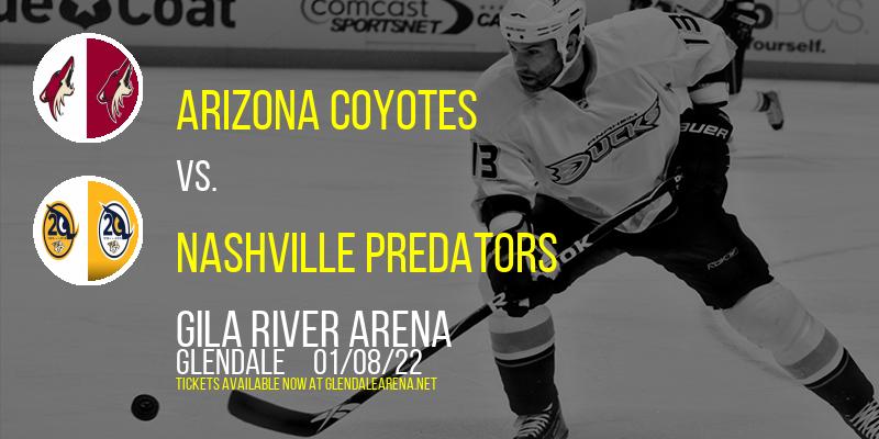 Arizona Coyotes vs. Nashville Predators at Gila River Arena