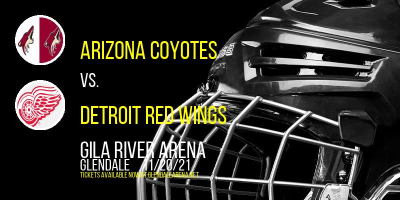 Arizona Coyotes vs. Detroit Red Wings at Gila River Arena