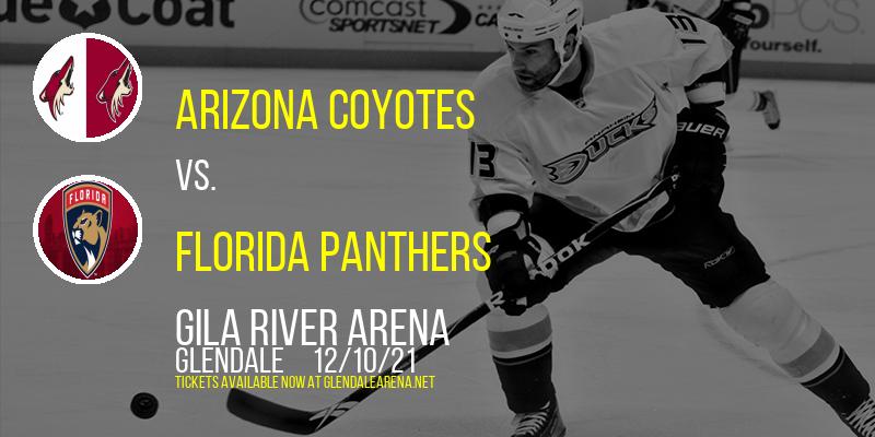 Arizona Coyotes vs. Florida Panthers at Gila River Arena
