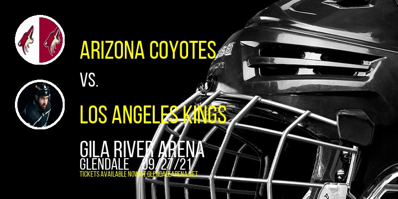 NHL Preseason: Arizona Coyotes vs. Los Angeles Kings at Gila River Arena