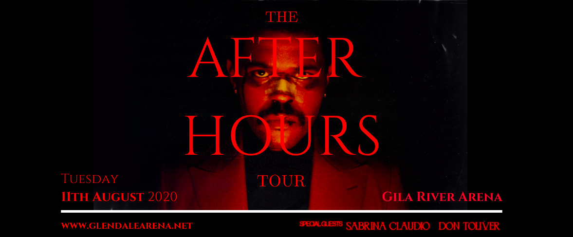 The Weeknd, Sabrina Claudio & Don Toliver [CANCELLED] at Gila River Arena