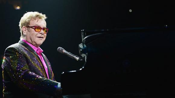 Elton John at Gila River Arena