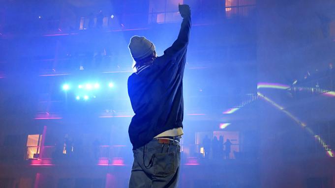 Justin Bieber at Gila River Arena