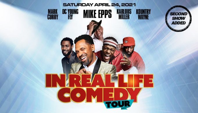 In Real Life Comedy Tour: Mike Epps, Sommore, Earthquake & Kountry Wayne at Gila River Arena